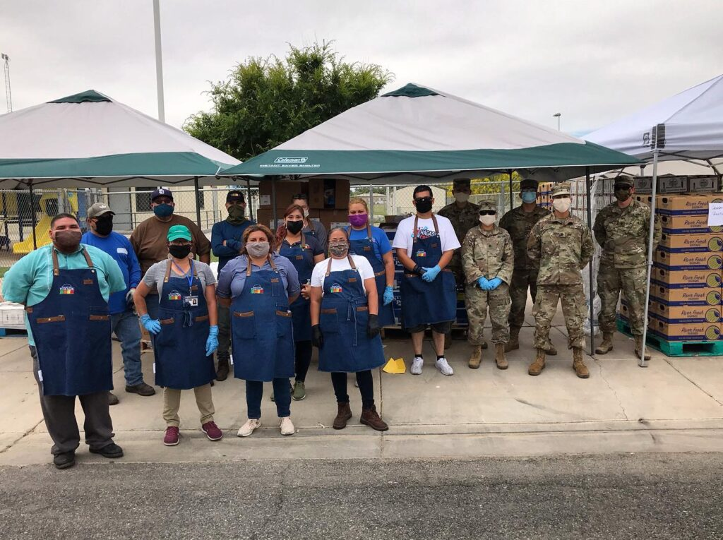IVFB Staff and National Guard Members
